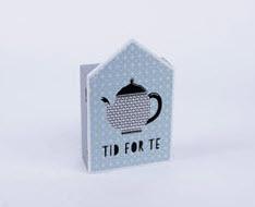 กล่องใส่ของ 4 ช่องลายกาน้ำชา