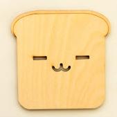 ที่รองแก้วหน้าแมว ขนมปัง